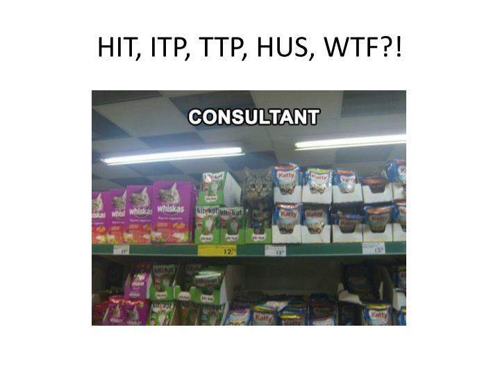 HIT, ITP, TTP, HUS, WTF?!