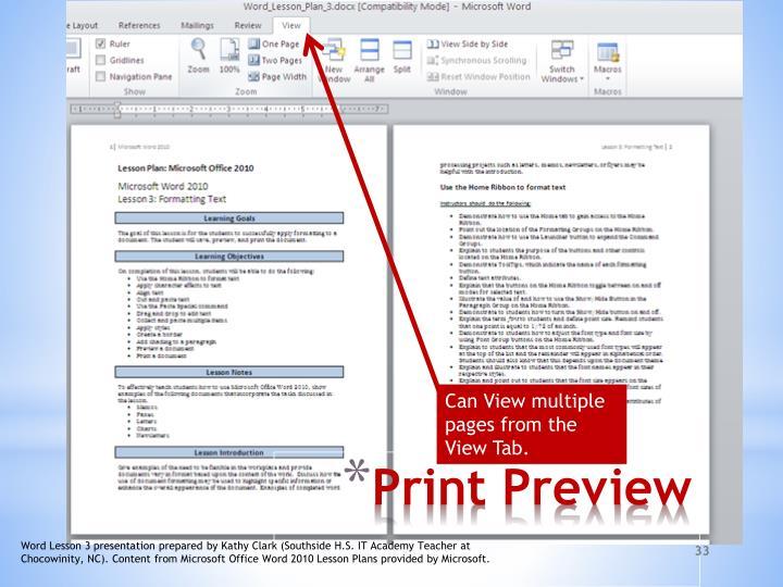 ppt microsoft word 2010 powerpoint presentation id 2165448