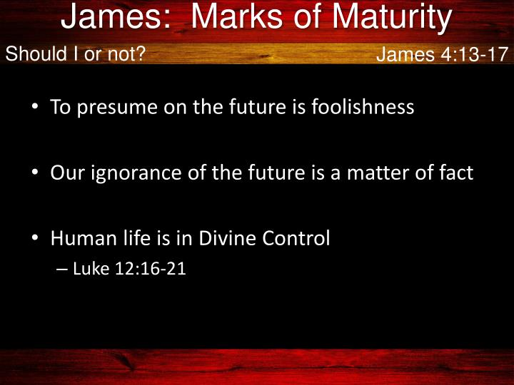 marks of maturity essay They are missing many of the marks of maturity they should possess from an intellectual perspective, students on the other hand, students have been stunted in their emotional maturity they seem to require more time to actually grow up and prepare for the responsibility that comes with adulthood.