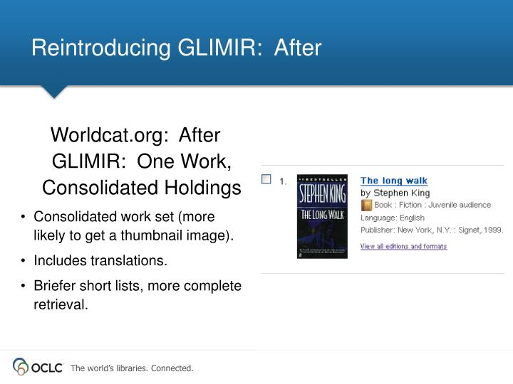 Reintroducing GLIMIR:  After