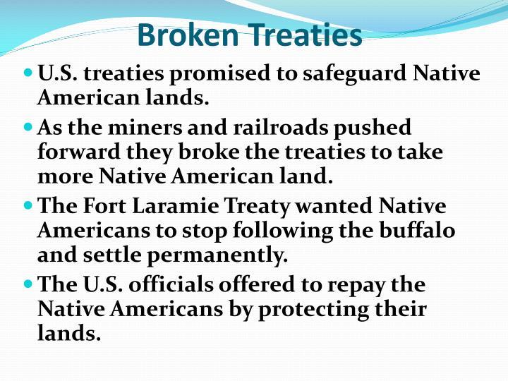 Broken Treaties