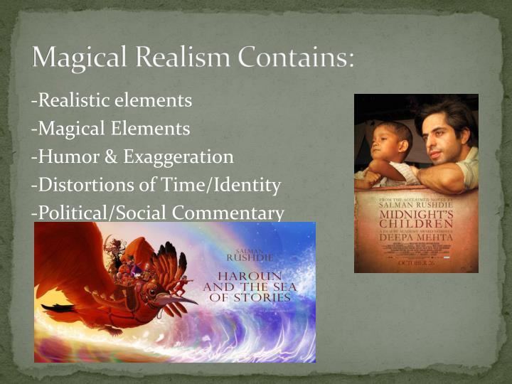 use of magical realism in chronicle of Magical realism is defined as being the juxtaposition of realism with fantastic, mythic and magical/supernatural elements we will write a custom essay sample on the use of magical realism in gabriel-garcia márquez's chronicle of a death foretold specifically for you.