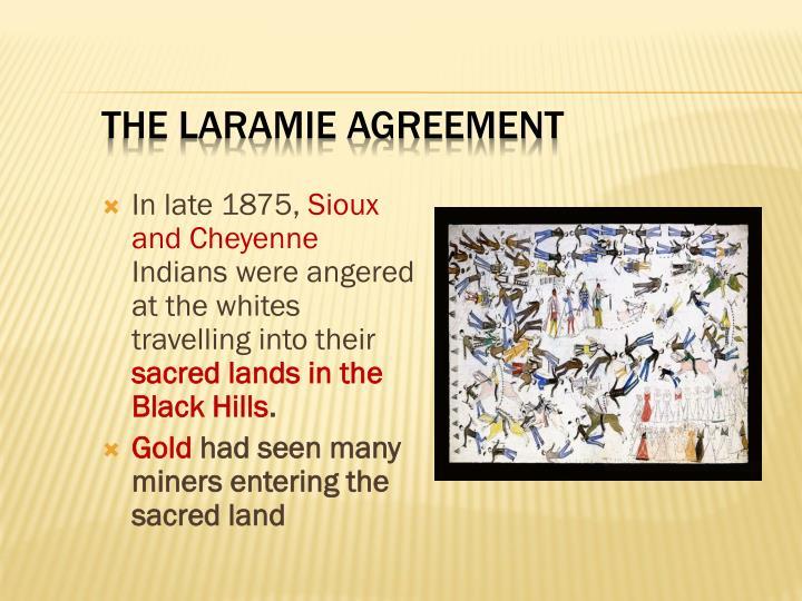 The Laramie Agreement