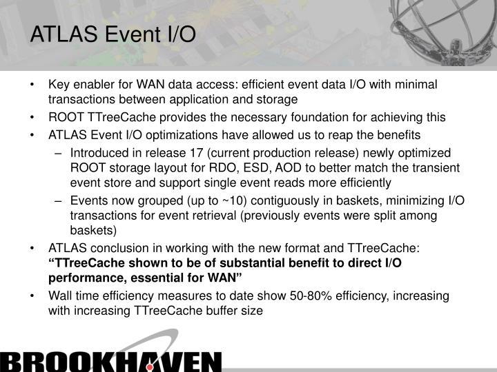 ATLAS Event I/O