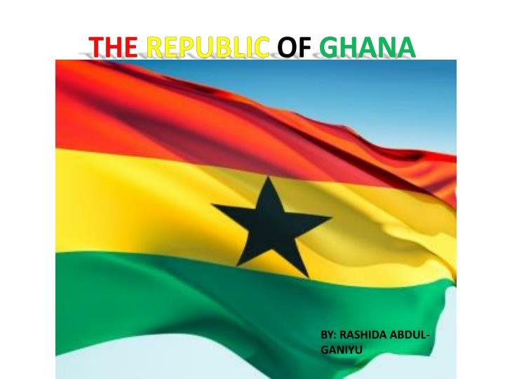 the republic of ghana n.