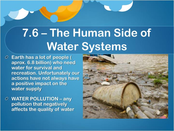 7.6 – The Human Side of Water Systems