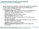 infection control tracking and trending2