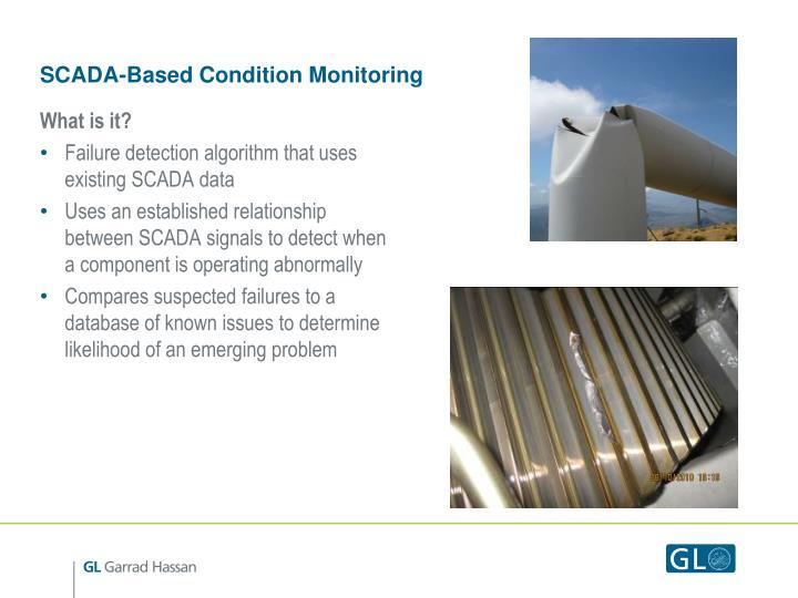 Scada based condition monitoring1