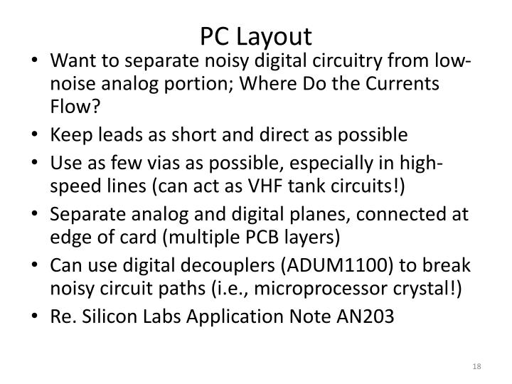 PC Layout