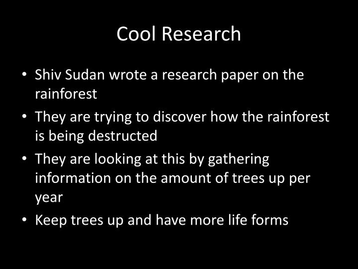 Cool Research