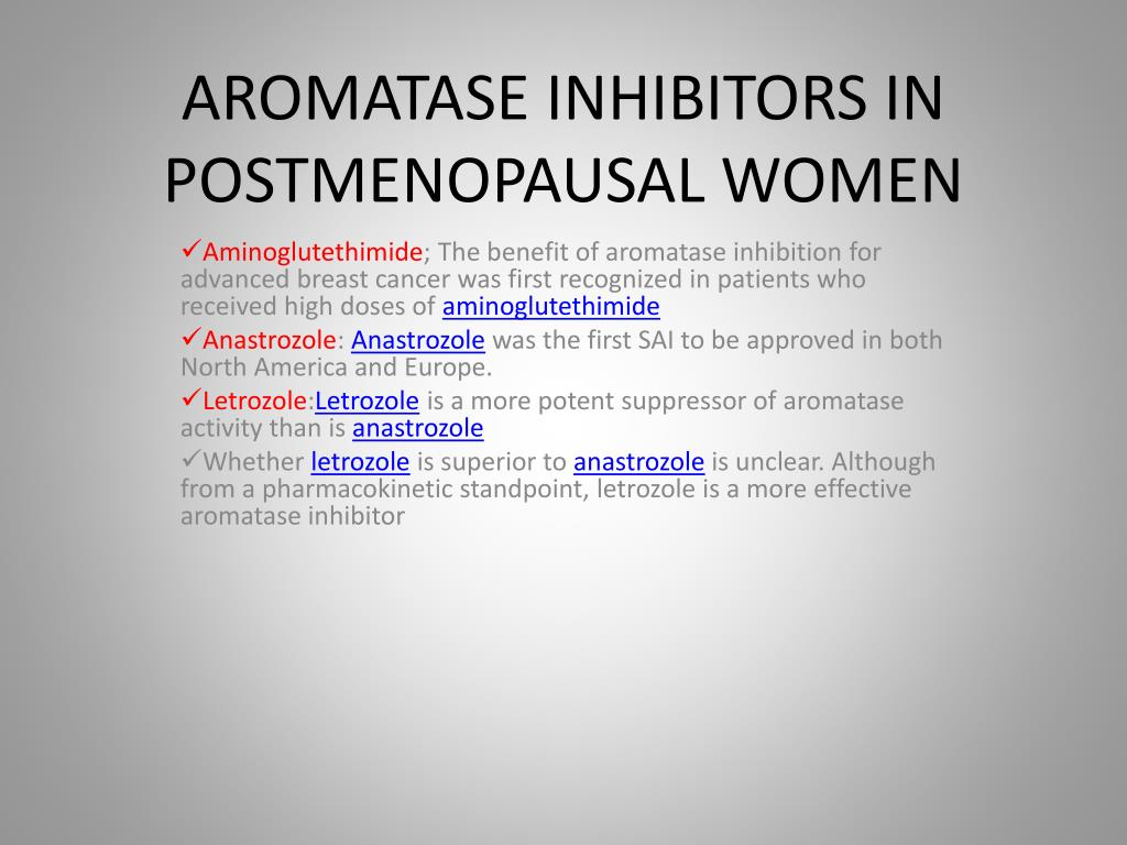 PPT - Endocrine therapy in breast cancer PowerPoint Presentation