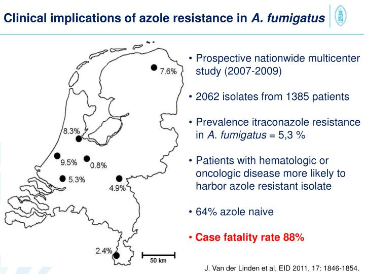 Clinical implications of azole resistance in