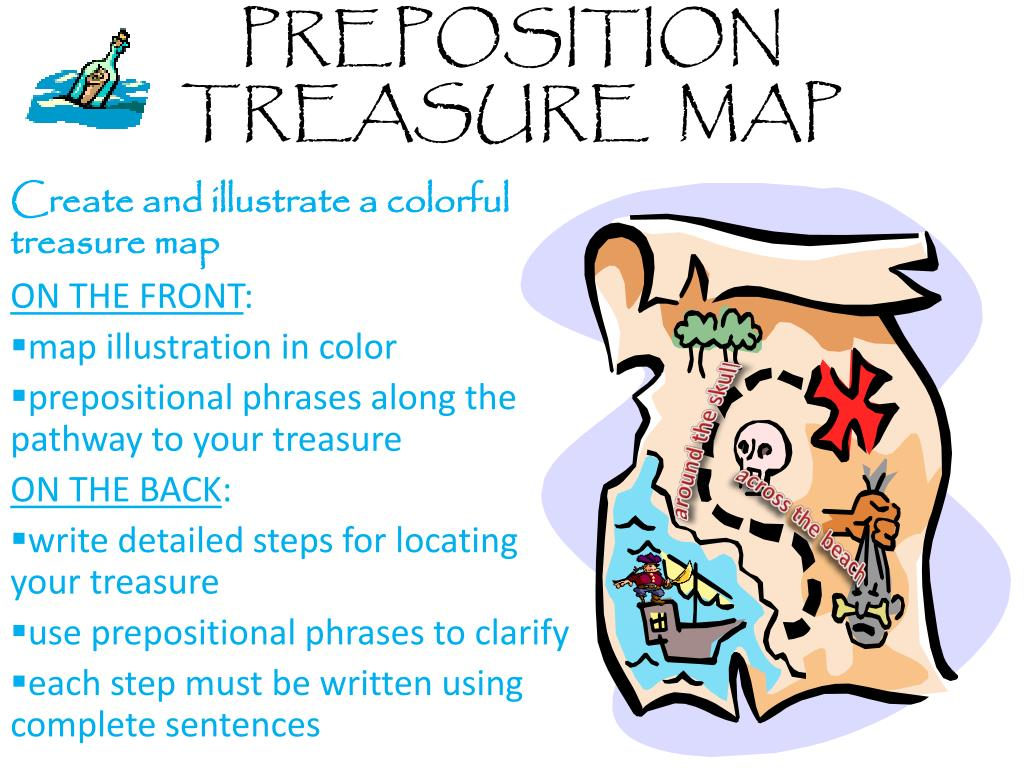 Preposition Treasure Map N