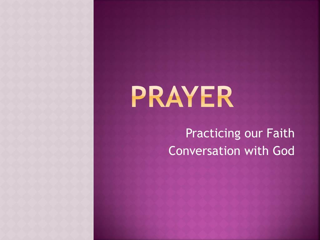 PPT - Prayer PowerPoint Presentation - ID:2167818