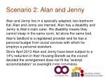 scenario 2 alan and jenny