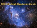 ngc 346 small magellcanic cloud