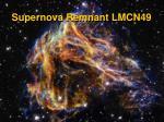 supernova remnant lmcn49