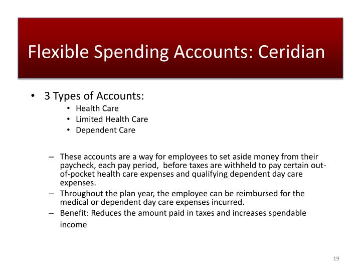 Flexible Spending Accounts: Ceridian
