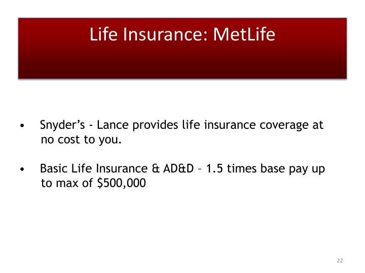 Life Insurance: MetLife