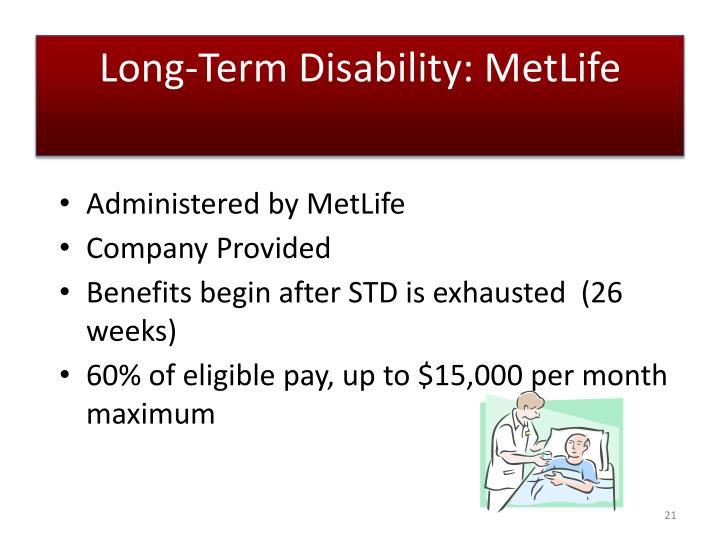 Long-Term Disability: MetLife
