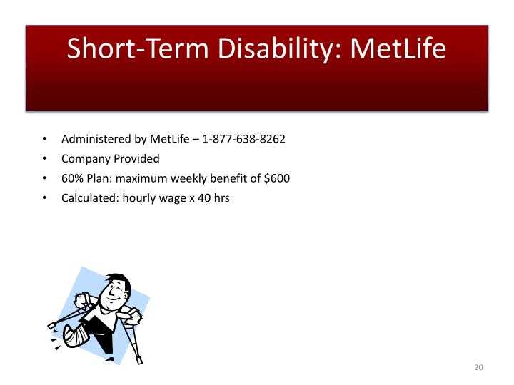 Short-Term Disability: MetLife