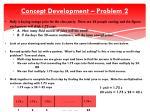 concept development problem 21