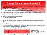 concept development problem 22