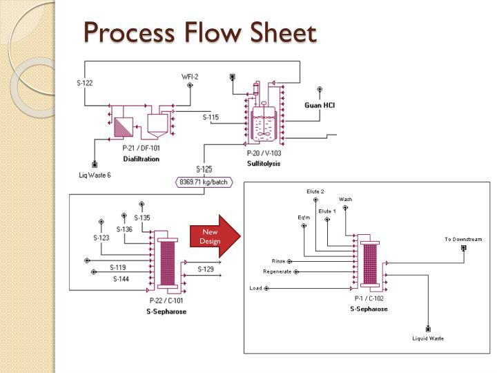 Process Flow Sheet