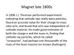 magnet late 1800s