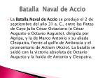 batalla naval de accio