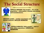 the social structure