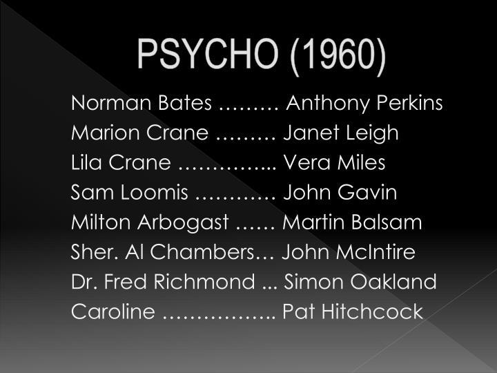 Psycho 19601