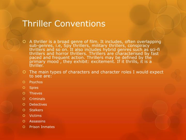 codes and conventions of genres The documentary genre allows to expresion of a point of view as well as the illustration of the 'truth' in a way which is flexible yet understood by audiences who have become accustomed to the conventions of the genre.