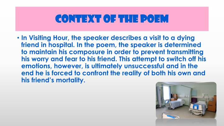 Context of the Poem