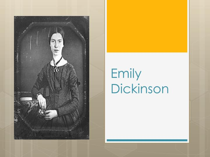 """emily dickinson's if you were coming Emily dickinson: emily dickinson's singular brilliance of style and integrity  emily dickinson, in full emily elizabeth  """"you were not aware that you saved."""