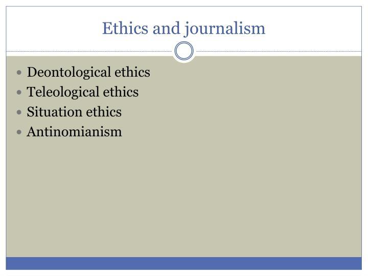 teleological ethics vs deontological ethics