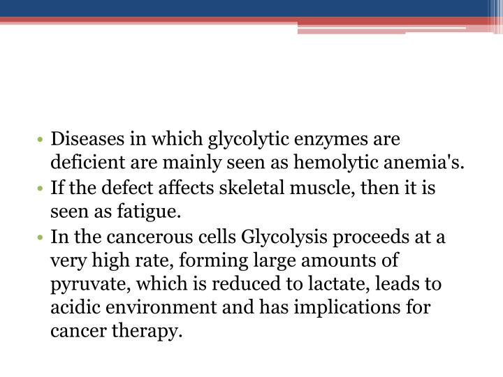 Diseases in which