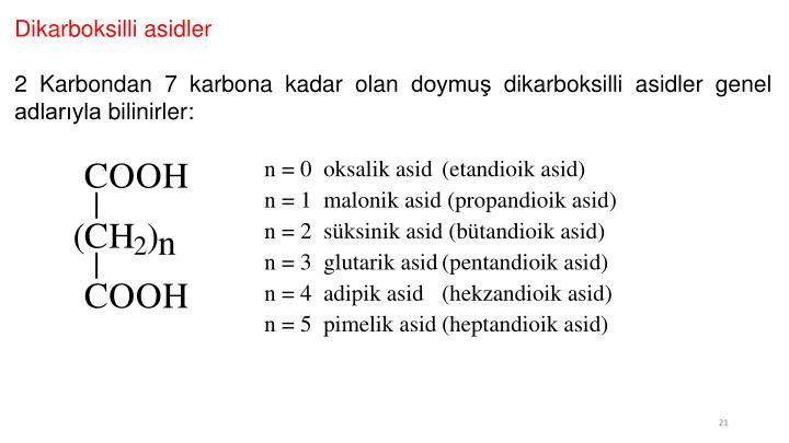 Dikarboksilli