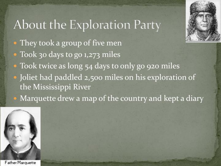 About the Exploration Party