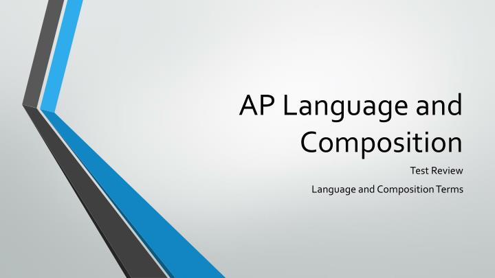 ap language and composition semester 1 The ap english language and composition course aligns to an introductory college-level rhetoric and writing curriculum, which requires students to develop evidence-based analytic and argumentative essays that proceed through several stages or drafts.