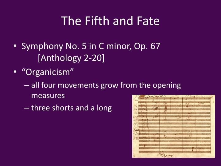 The Fifth and Fate