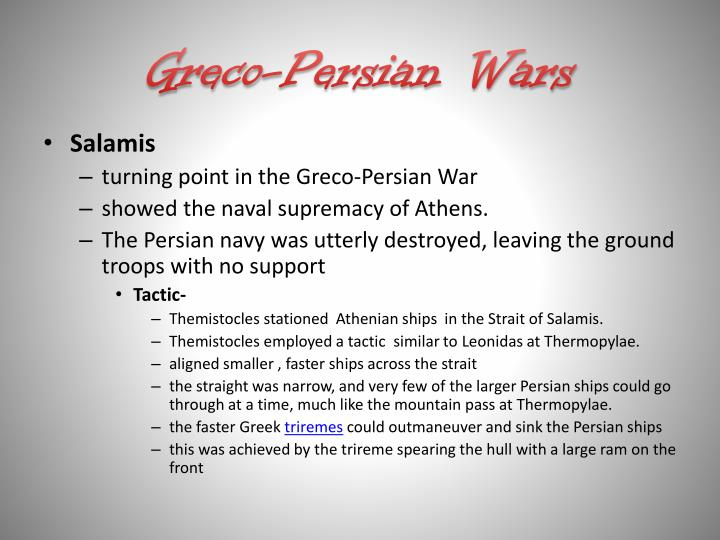 themistocles and the persian war essay The account of the persian wars could be likened with how the trojan war was depicted in the entirety of the greek history through the fifth century, the persians' attempted and successful invasions against the greeks were regarded by the athenians, which politically and culturally control greece, as their utmost and most distinctive moment.
