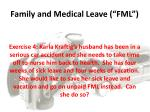 family and medical leave fml5