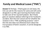 family and medical leave fml8