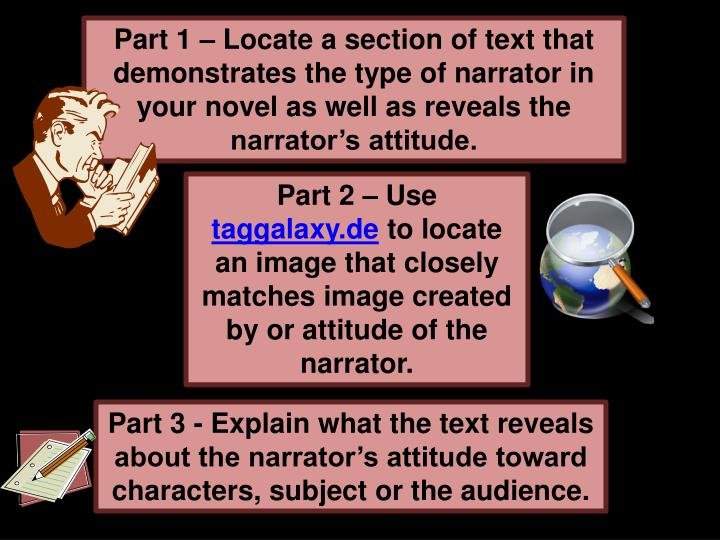 Part 1 – Locate a section of text that
