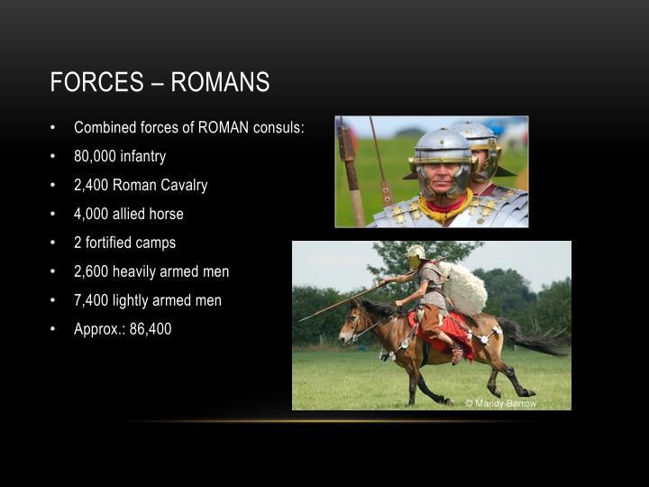 Forces – romans