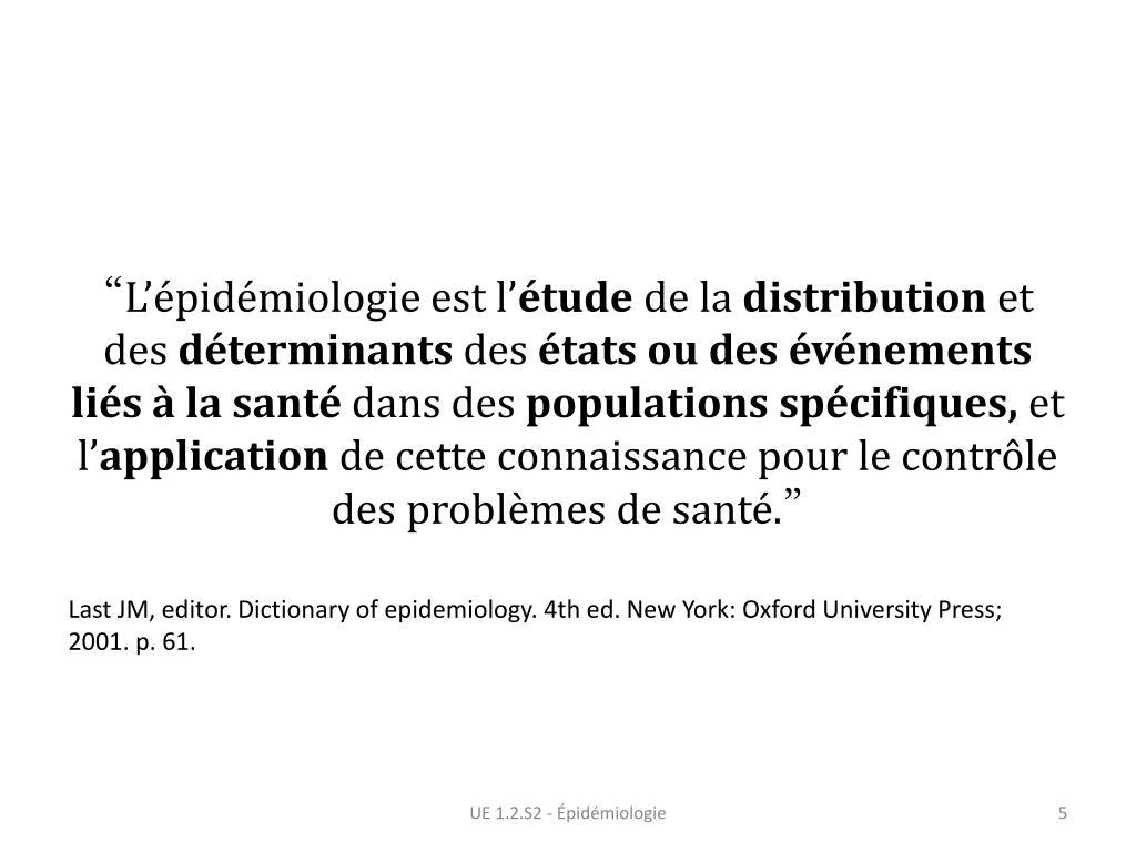 Définition de l'épidémiologie de Covid-19 - études nécessaires