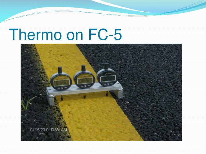 Thermo on FC-5