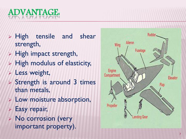 High tensile and shear strength,