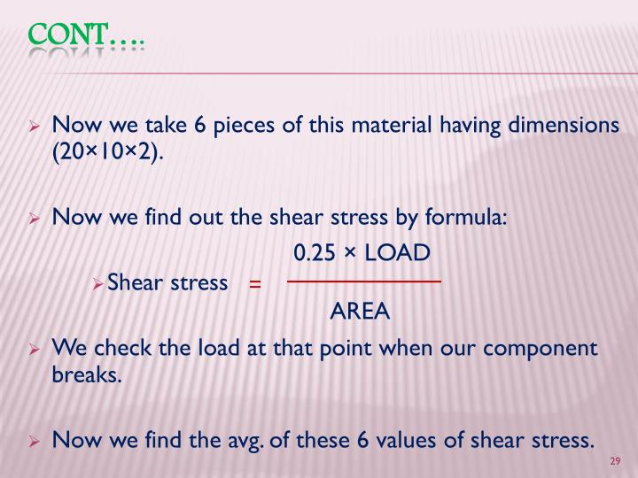 Now we take 6 pieces of this material having dimensions (20×10×2).
